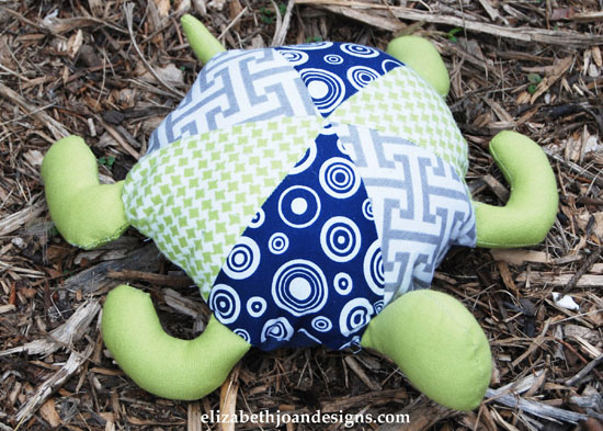 PBK Inspired Plush Turtle