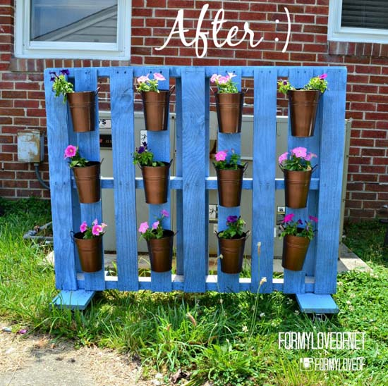 pallet-planter-hiding-ac-unit