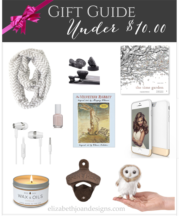 Gift Guide Under $10