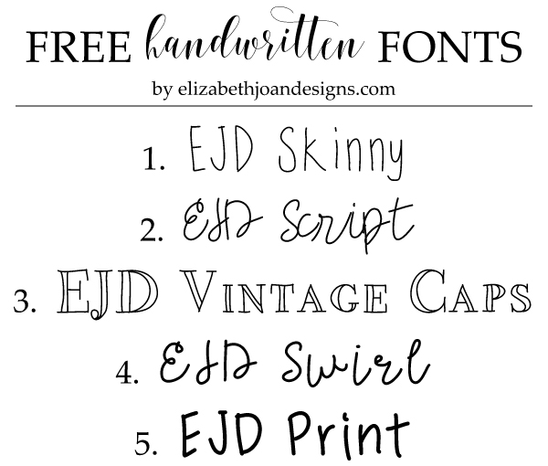 There Are A Couple Of Methods I Know That Allow You To Create Your Own Handwritten Fonts Fairly Easily Both These Ways Require Few Accessories