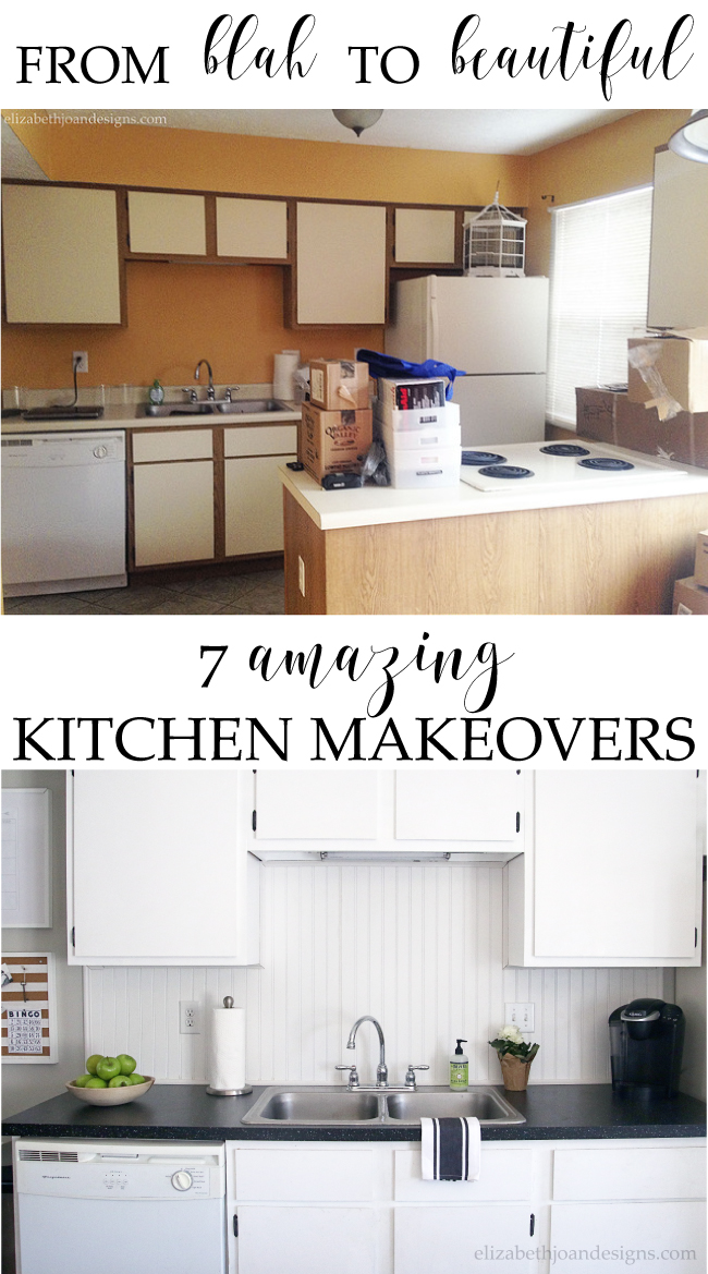 7 Amazing Kitchen Makeovers