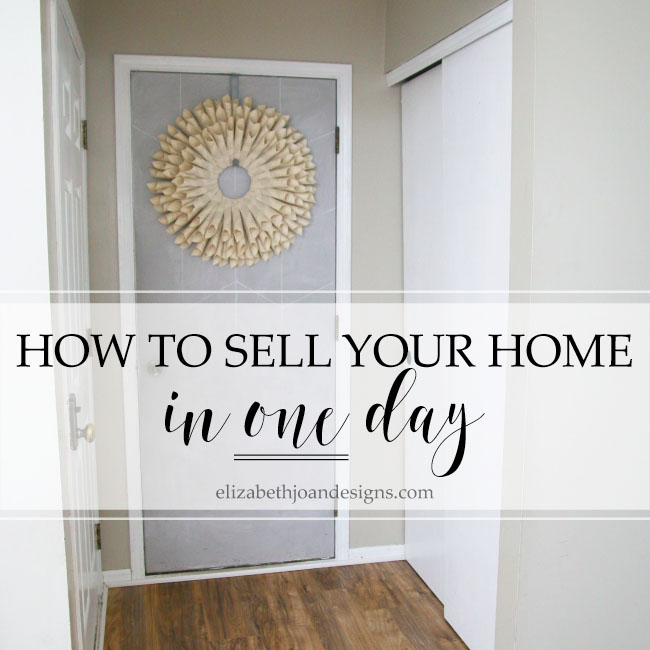 How We Sold Our Home