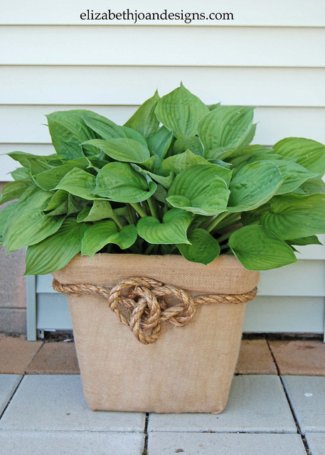 Laundry Basket Planter
