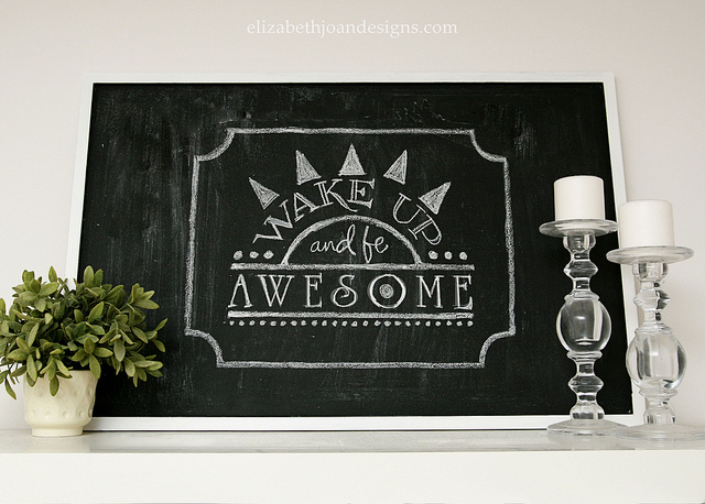 Dry Erase To Chalkboard