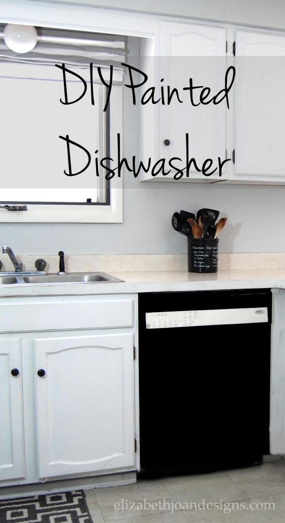 Painted Dishwasher