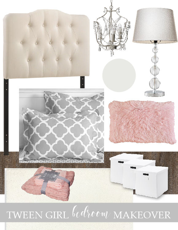 Elizabeth Joan Designs ORC Tween Bedroom Mood Board/Projects